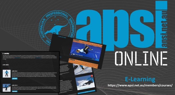 APSI E-Learning is Live